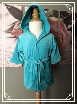 Blauwe badjas - Maat 68