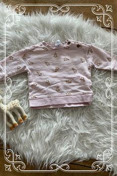 roze shirtje van baby club - maat 68