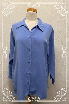 Nette lichtblauwe blouse maat M