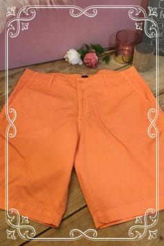 Oranje korte broek van GAP - maat 34