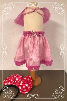 3-delige roze verkleedset - vanaf 3 jaar.