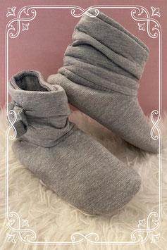 Heerlijke grijze pantoffels maatje 34-35
