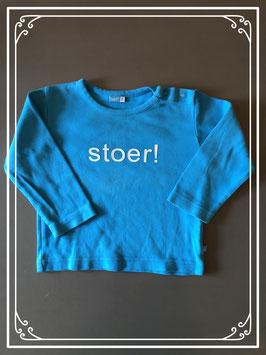 Stoer blauw shirt van LIEF - Maat 74
