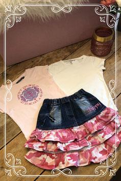 3 delige kledingset van verschillende merken - Maat 122/128