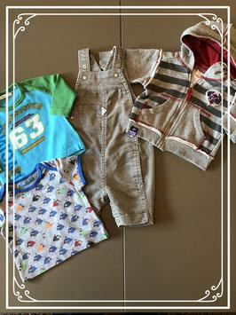 4DELIGE kleding set met tuinbroek - Maat 56