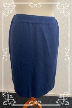 Donkerblauwe rok van Invero maat XXL