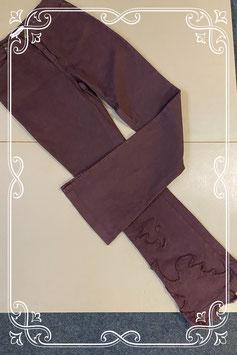 Nieuw! Mooie donkerpaarse broek van Zucchero maat 36