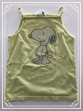Geel topje met Snoopy van de H&M - Maat 128