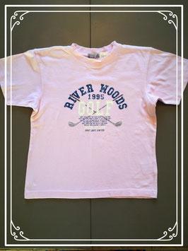 River Woods roze T-shirt - maat 128
