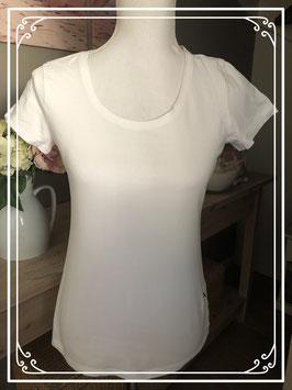 Wit shirt van de hema-maat M