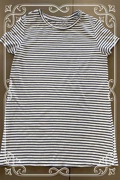 Zwart wit gestreept shirt van C&A maat M