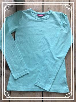 Nieuw: Turquoise lange mouwen t-shirt van Persival - Maat 152-158