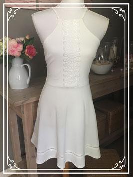 Witte jurk met spaghettibandjes van ATMOSPHERE - Maat 34
