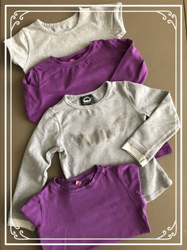 4-delig t-shirt set - maat 98/104