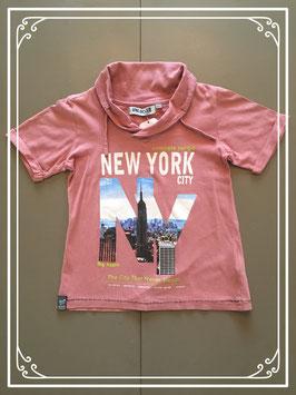 Oud roze T-shirt van Unlocked - maat 116-122