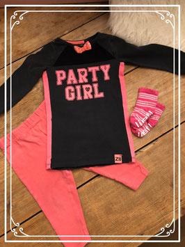 Complete set voor een echte Party Girl van Z8 - Maat 74