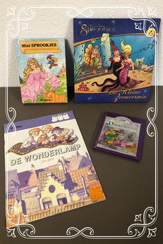 4 (voor)leesboekjes over sprookjes