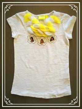 Wit shirtje van K3 - maat 110