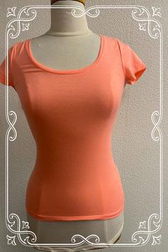 Leuk roze shirt met korte mouwen maat XS