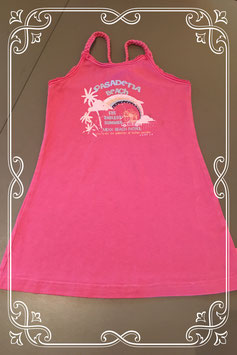 Super leuk roze jurkje met print van Mexx - maat 98/104