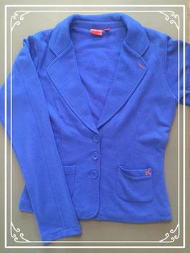 Blauwe jas van Ketnet - maat 158-164
