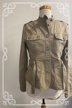 Leuk beige jasje van Eddy's Jackets maat XL