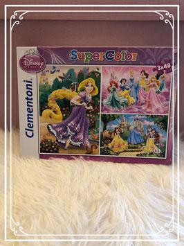 Clementoni Super Color Disney Prinsessen puzzel