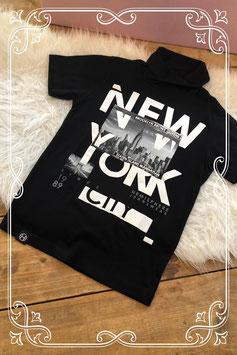 Stoer zwart t-shirt van Hemisphere - Maat 140