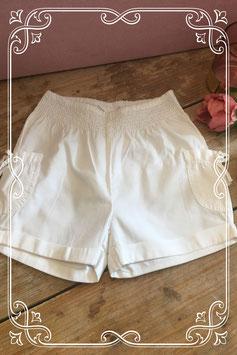Wit kort broekje van H&M - Maat 110