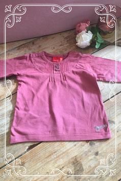 Bordeaux rode longsleeve van Esprit baby-maat 86