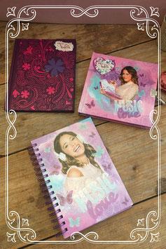 Set van 3 boekjes van Disney's Violetta