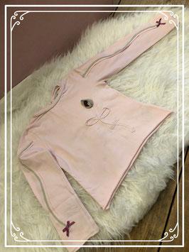 Lichtroze lange mouwen shirt van Eliane st Luna - Maat 98-104