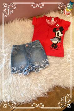 2-delig setje van H&M en Disney - maat 74