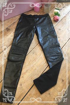 Leren (nep) legging van de Zara - Maat S