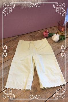 Zomers zacht geel broekje van H&M-maat 98