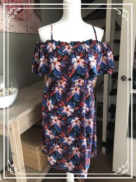 Fleurig jurkje merk M&S mode - maat 40
