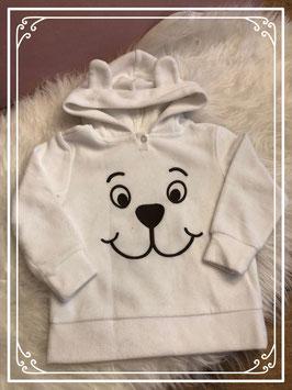 Witte beren trui van Bonprix collection - maat 92-98