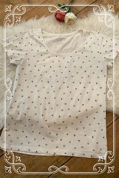 T-shirt met hartjes van Sail Twist - maat 44