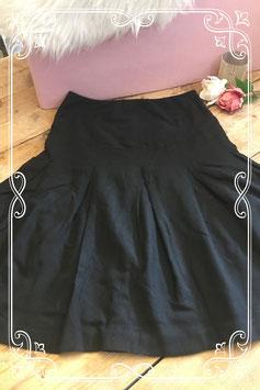 Zwarte zwangerschapsrok van de H&M - maat m