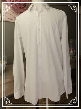 Hugo Boss witte blouse-maat L