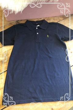 Donkerblauwe polo van het merk SOHO - maat 158-164