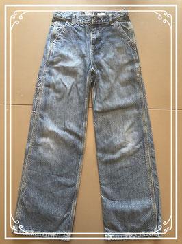Wijd model jeans-maat 152