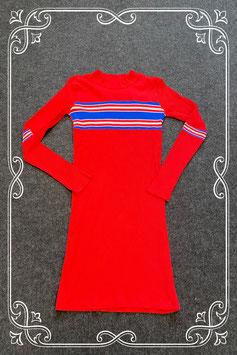 Nieuw! Leuk rood jurkje met strepen van Teen Girls maat 164