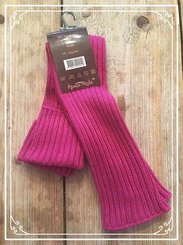 Nieuw: oudroze sokken voor over laarzen/schoenen - onesize