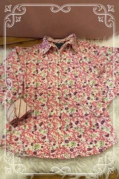 vrolijke blouse met bloemen van tommy hilfiger - maat 146-152