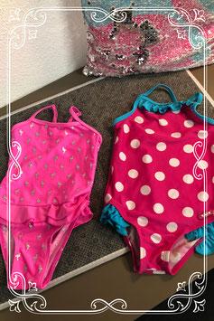Set van twee badpakjes waarvan één van het merk Lief - maat 86-92