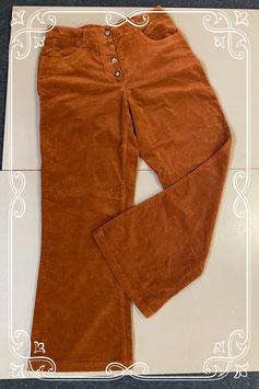 Mooie bruine broek van Cher maat 40