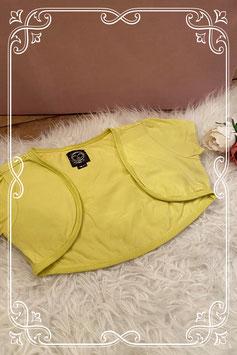 Gele bolero zonder mouwen van de coolcat - maat 170-176