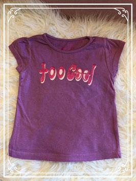 Paars T-shirt van het merk Girl2Girl - Maat 98
