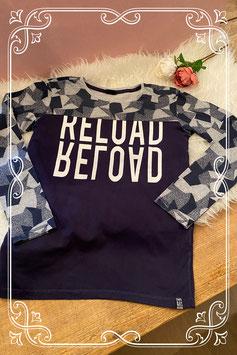 donkerblauw met grijs shirt van scamps & boys - maat 164
